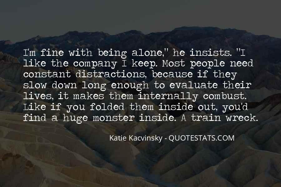 Quotes About Not Being A Monster #800262