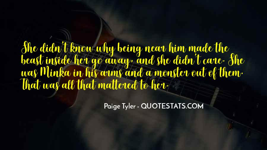 Quotes About Not Being A Monster #827757
