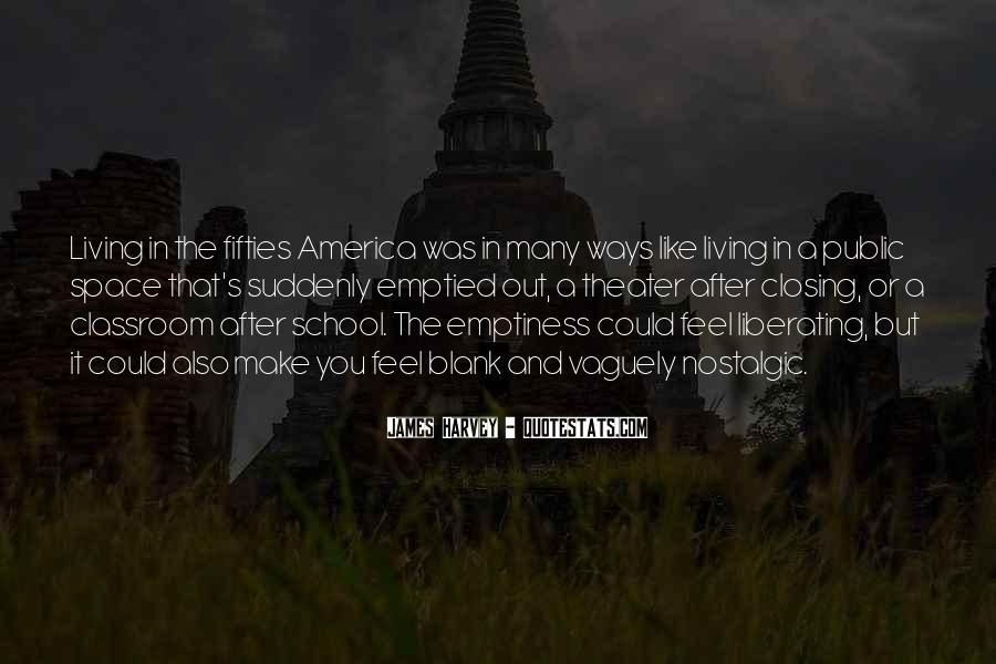 Quotes About Nostalgic School #620841
