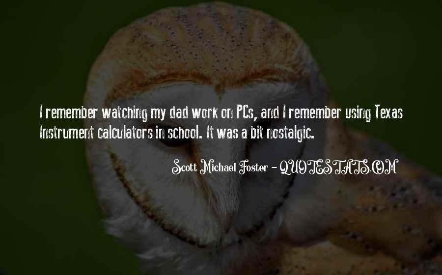 Quotes About Nostalgic School #948871