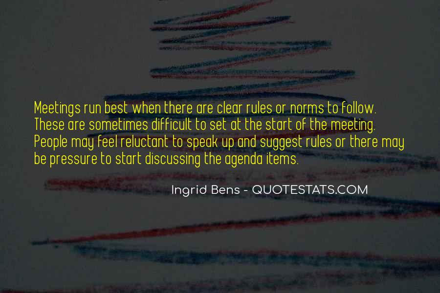 Quotes About Norms And Rules #202095