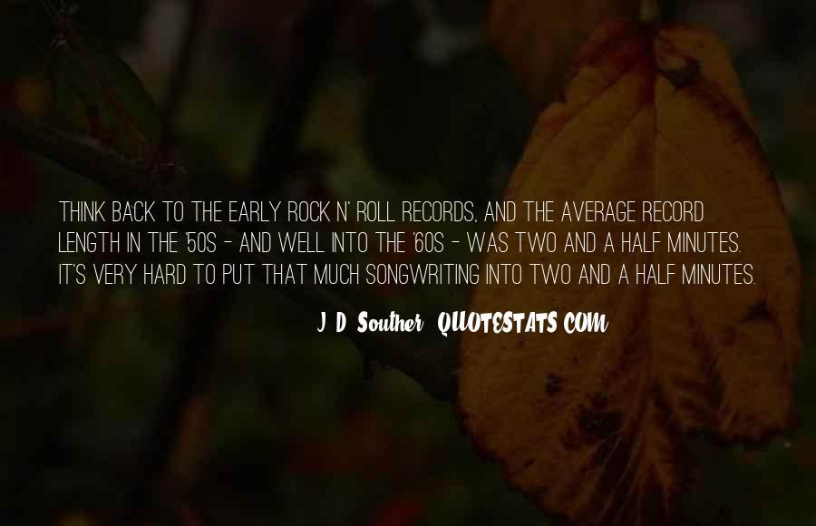 60s Rock Quotes #125467