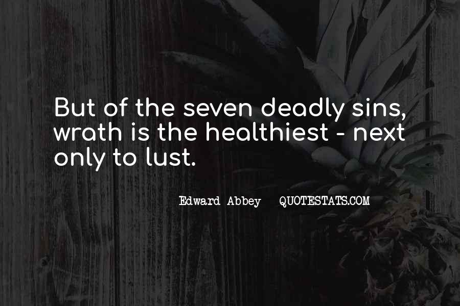 7 Deadly Sins Lust Quotes #1214819
