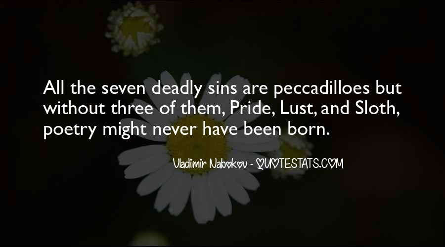 7 Deadly Sins Lust Quotes #1330153