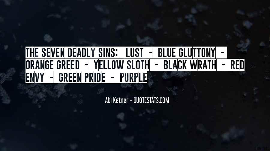 7 Deadly Sins Lust Quotes #979815