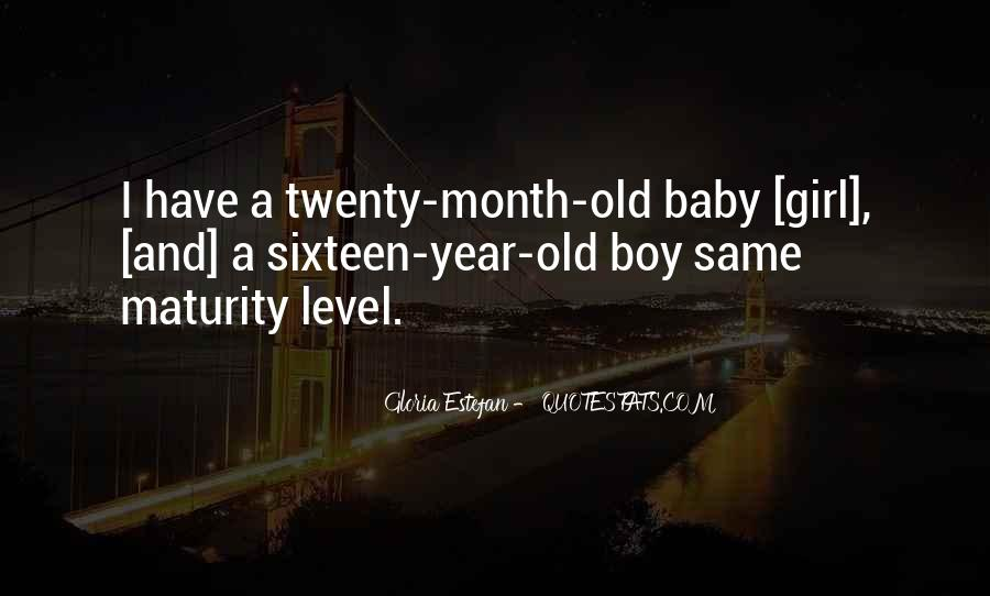 7 Month Old Baby Girl Quotes #947712
