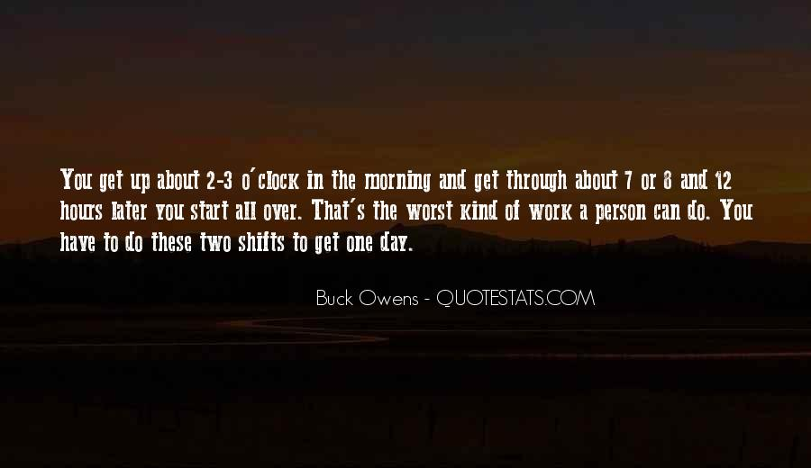 8 O'clock Quotes #1520939