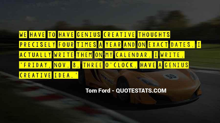 8 O'clock Quotes #1700476