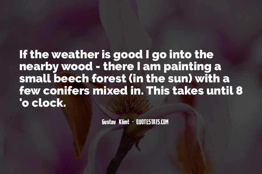 8 O'clock Quotes #1770419