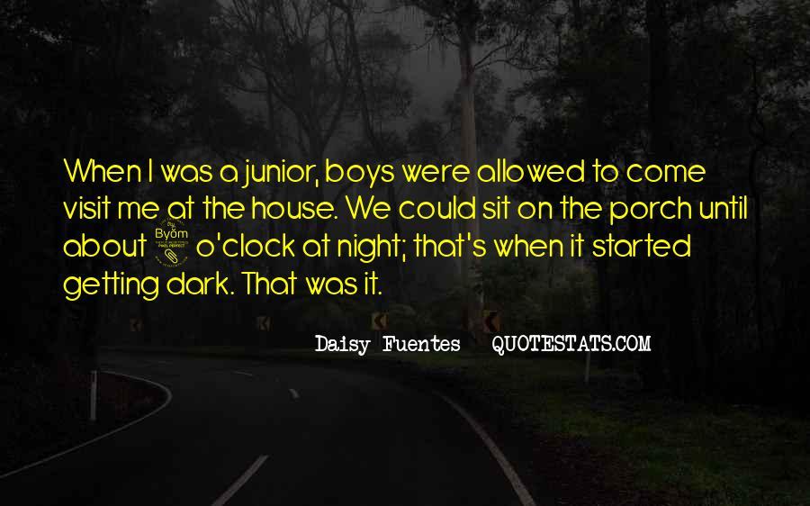 8 O'clock Quotes #476996