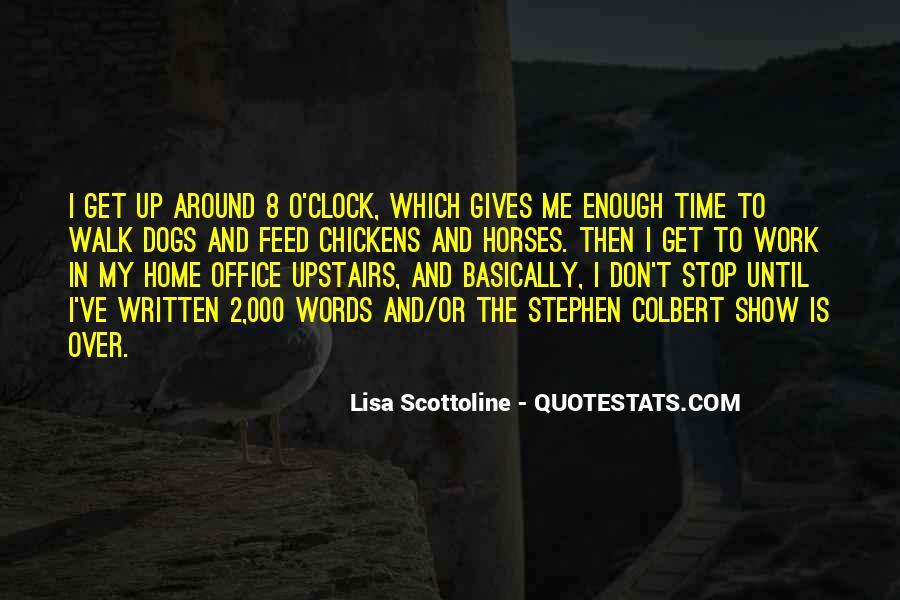 8 O'clock Quotes #593188