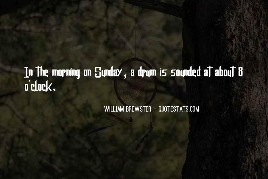 8 O'clock Quotes #921607