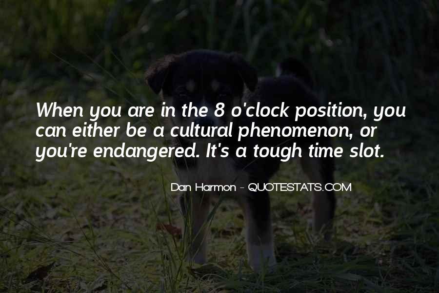 8 O'clock Quotes #932485
