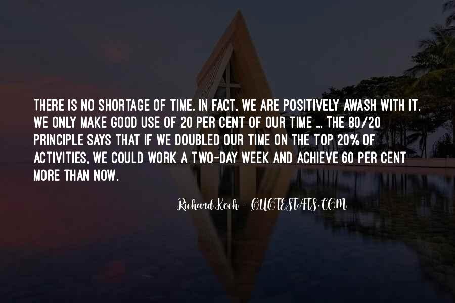 80 20 Principle Quotes #498759