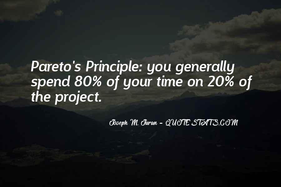 80 20 Principle Quotes #885063