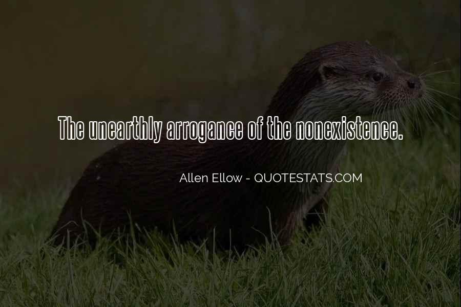 Quotes About Nonexistence #1834152