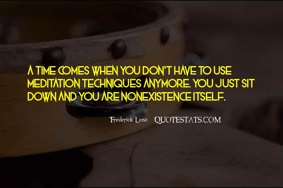 Quotes About Nonexistence #195611