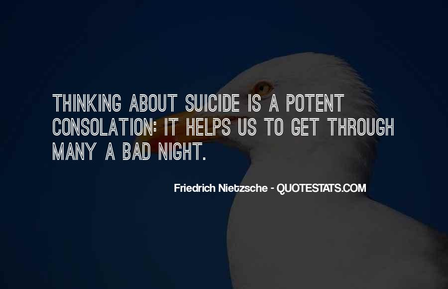 A Bad Night Quotes #114861
