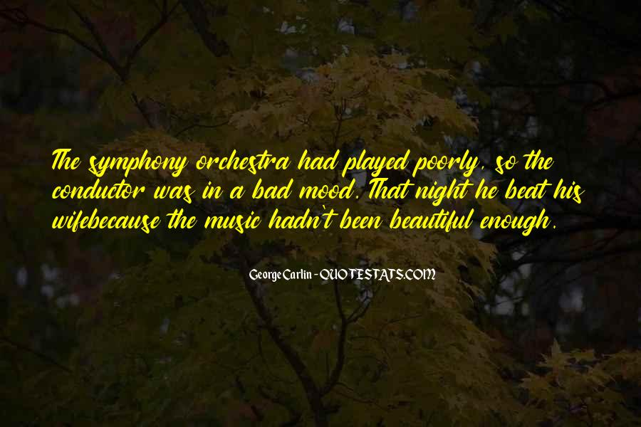 A Bad Night Quotes #1175172
