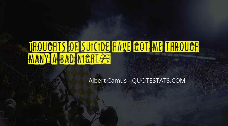 A Bad Night Quotes #1291420