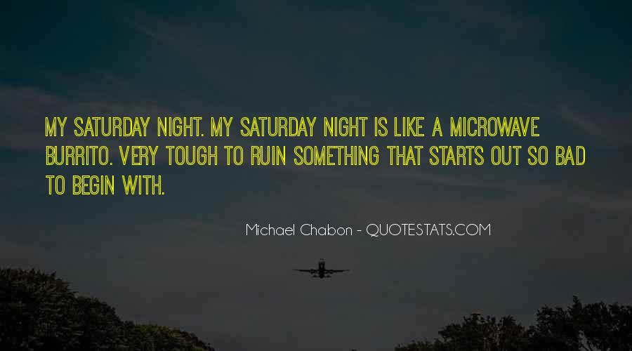 A Bad Night Quotes #1412958