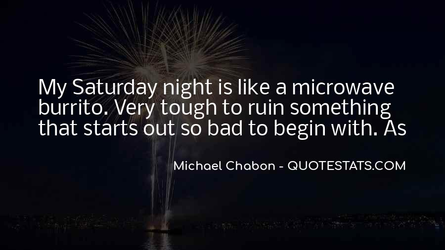 A Bad Night Quotes #1538333