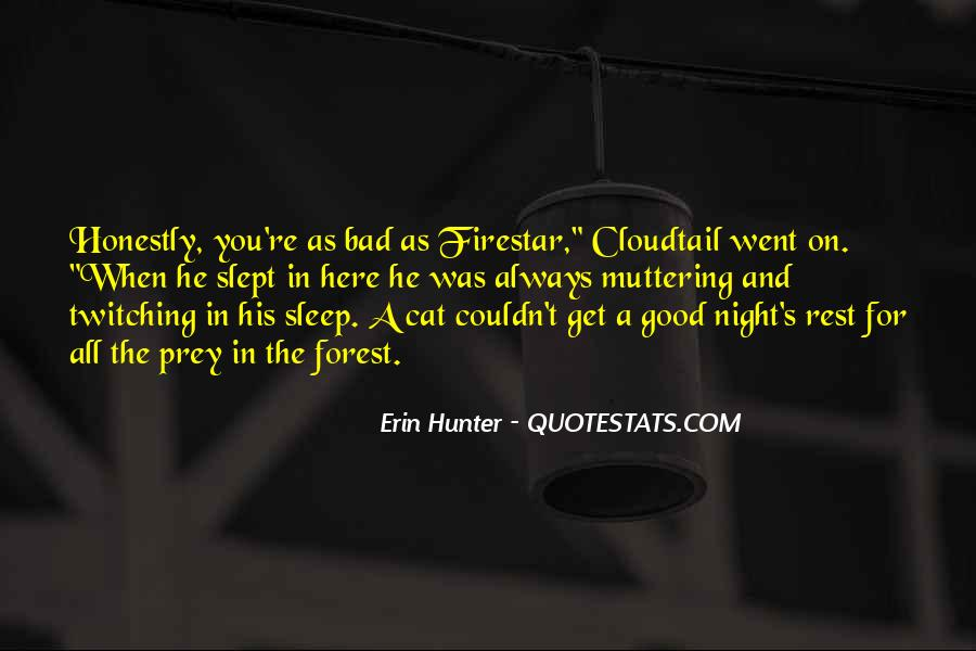 A Bad Night Quotes #1664892