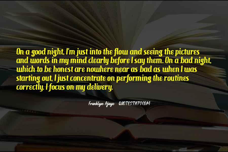 A Bad Night Quotes #1805234