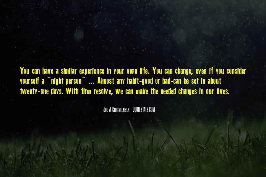 A Bad Night Quotes #240366