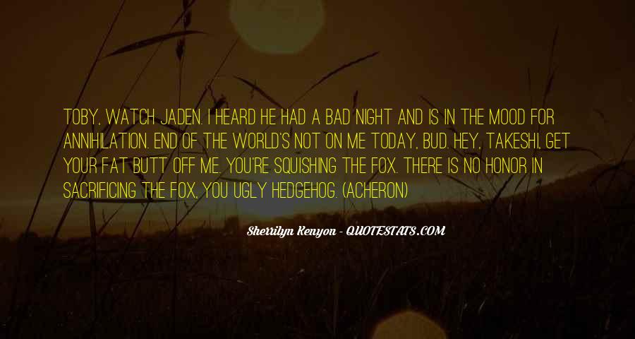 A Bad Night Quotes #937958