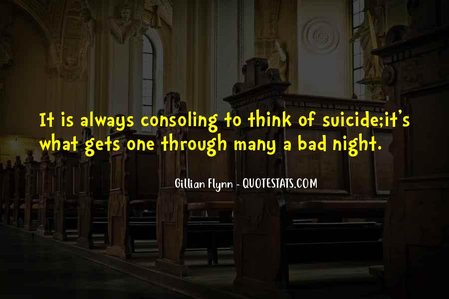 A Bad Night Quotes #964856