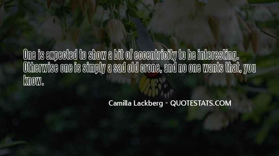 A Bit Sad Quotes #1033918