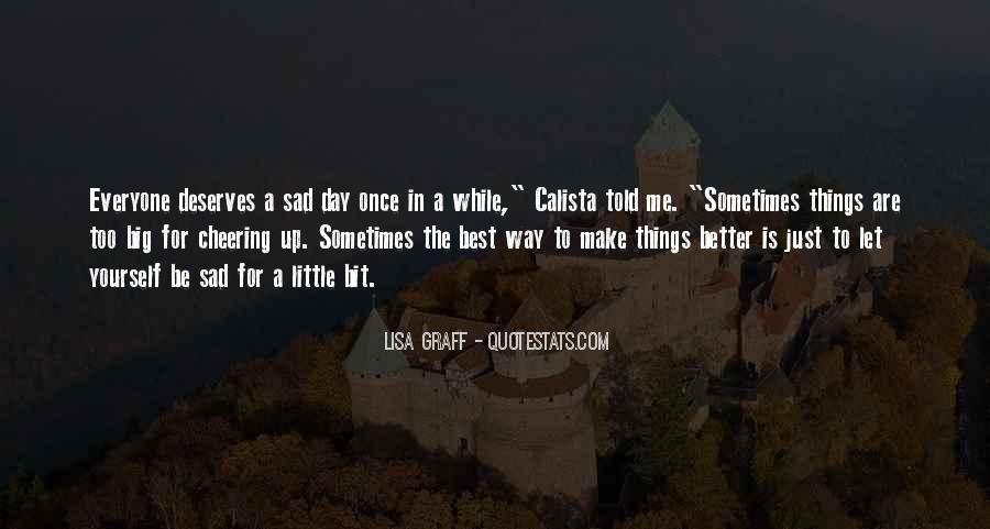 A Bit Sad Quotes #44700