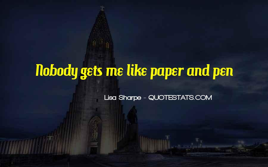 Quotes About Nobody Like Me #338044