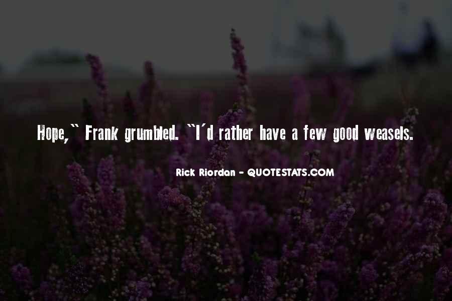 A Few Good Quotes #102527
