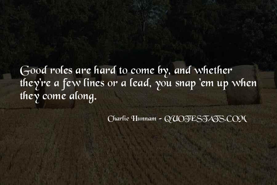 A Few Good Quotes #167699