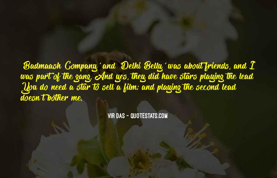 A Gang Of Friends Quotes #1376264