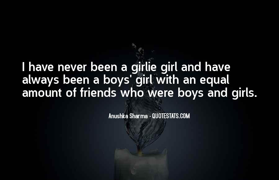 A Girl And A Boy Can Be Best Friends Quotes #619166