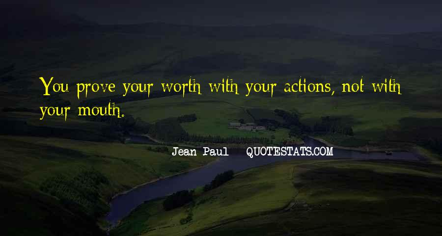 Quotes About No Self Worth #15728