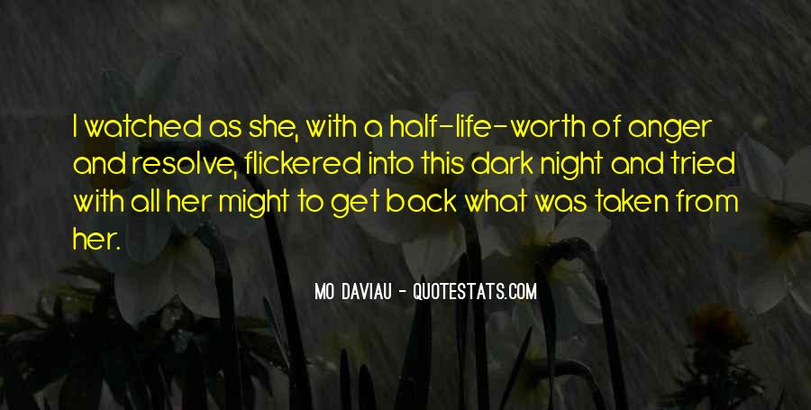 Quotes About No Self Worth #16922