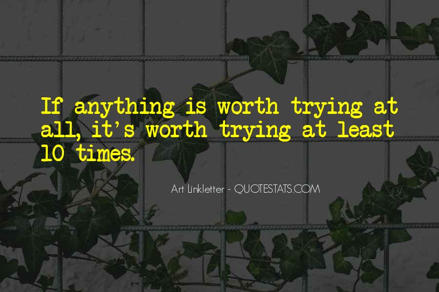 Quotes About No Self Worth #17046