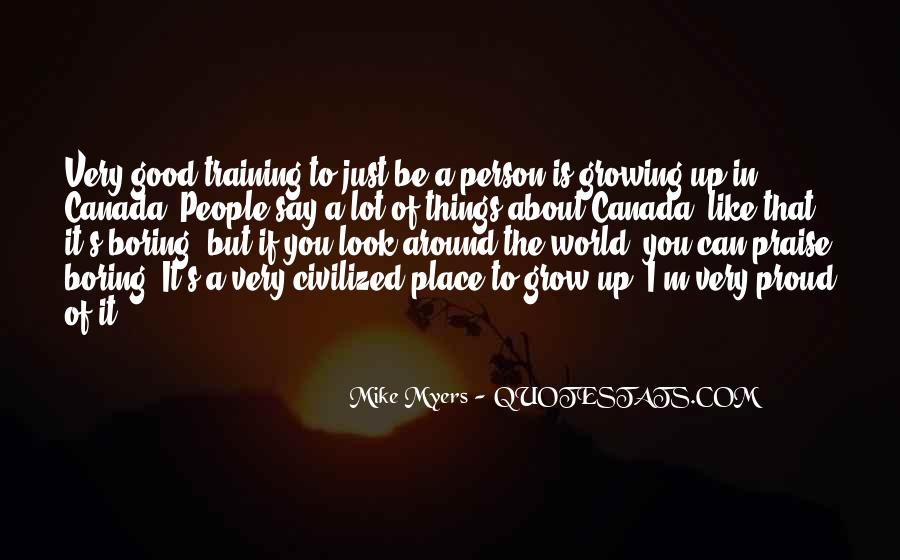 A Good Place Quotes #107145
