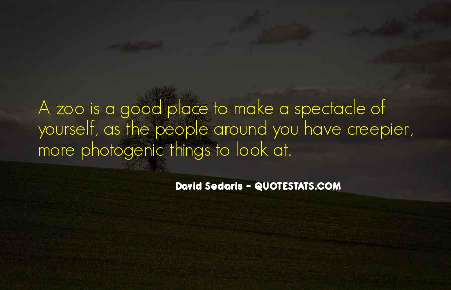 A Good Place Quotes #22600