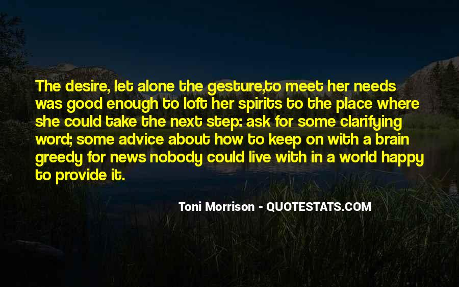 A Good Place Quotes #54780