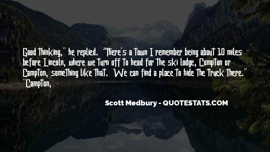 A Good Place Quotes #58047