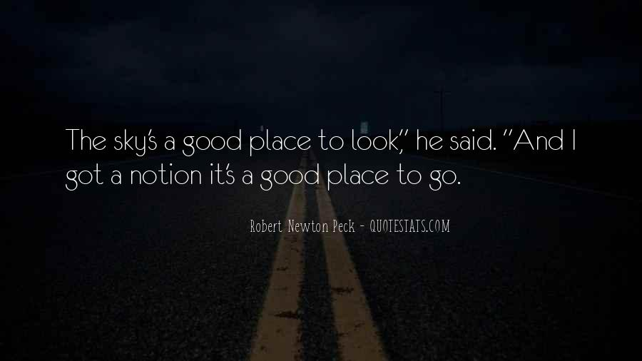 A Good Place Quotes #93679
