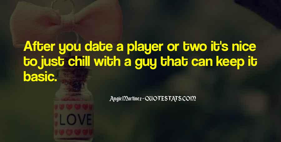 A Guy Player Quotes #1015239