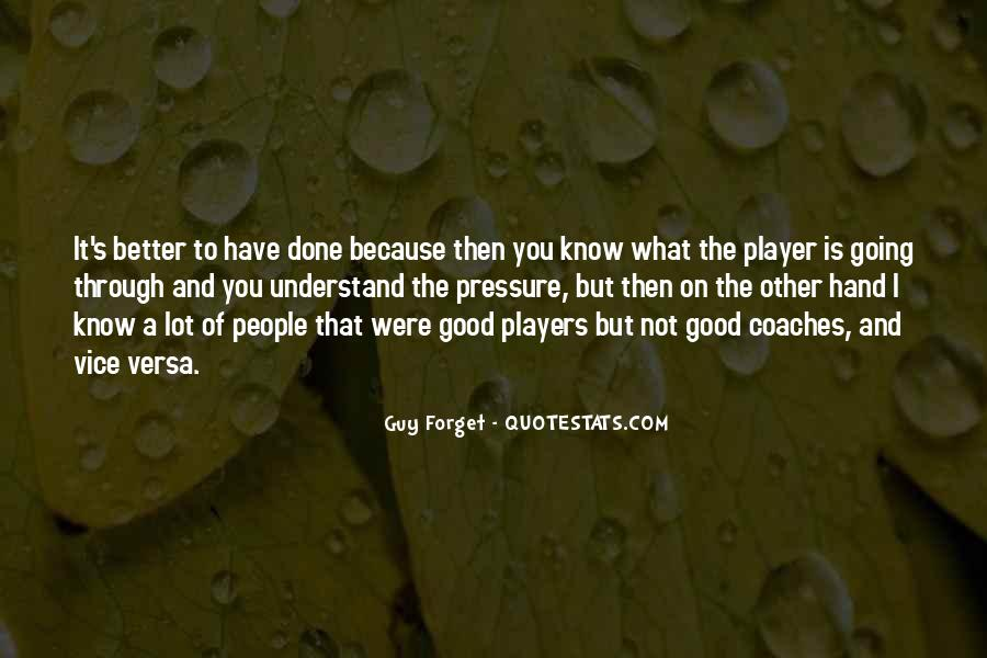 A Guy Player Quotes #1098018