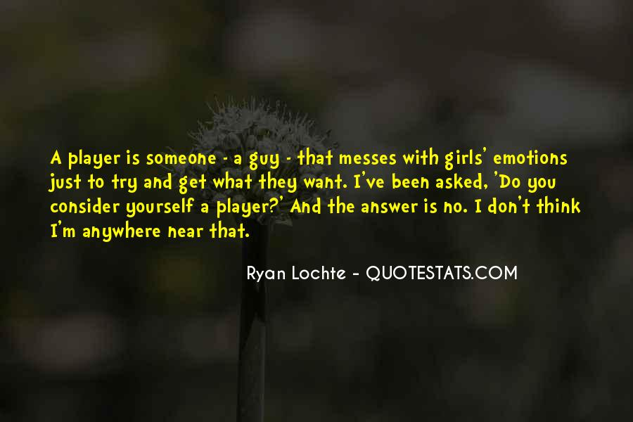 A Guy Player Quotes #373363