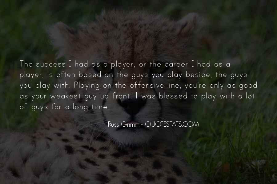A Guy Player Quotes #814202